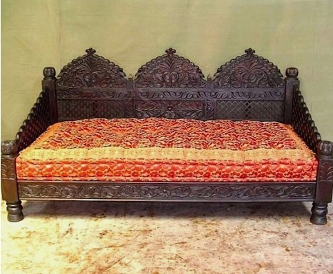 Carved Jhula Benches & Chairs