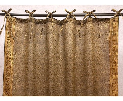 Jazz Sari Curtains