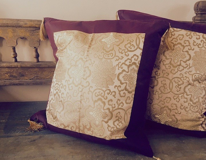 Chinese Silk Pillow Covers Worldcraft Industries