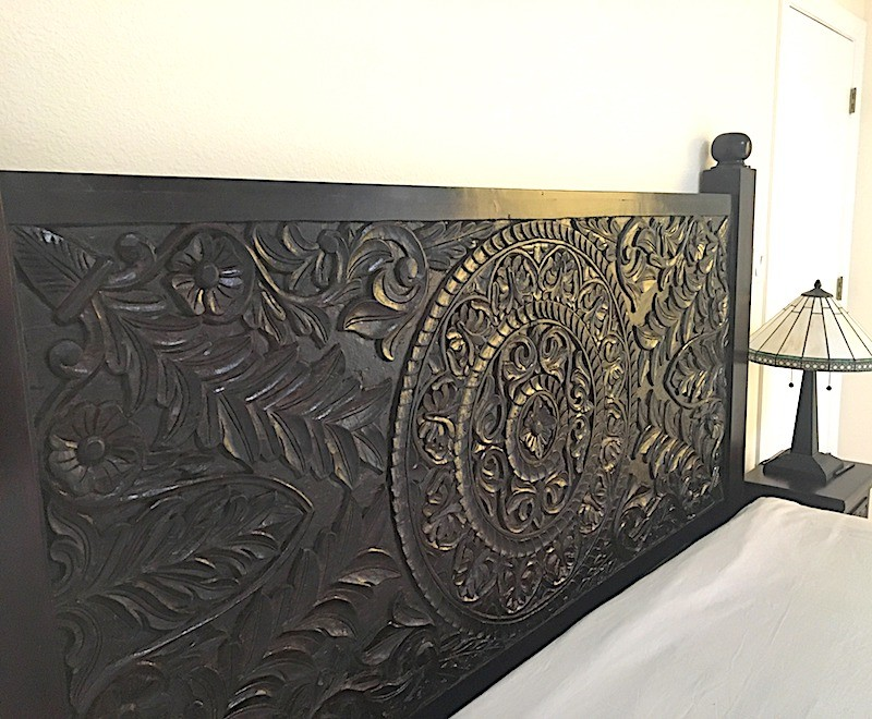 Hand Carved Mandala Headboard Worldcraft Industries