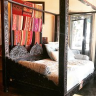 Jhula Triple Arch Canopy Day Bed, Full Size
