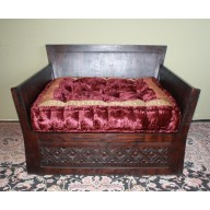 Diamond Carved Love Seat