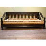 Plantation Day Bed with Clean Slatted Back