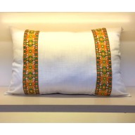 White Linen Pillow Sham