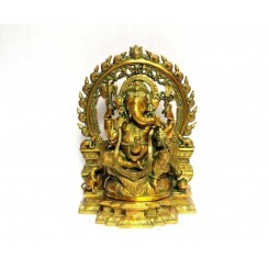 Brass Ring Ganesh