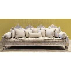 Carved Jhula Arch Sofas