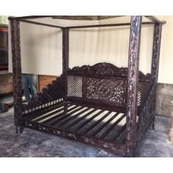 Lotus Canopy Day Bed, Full Size