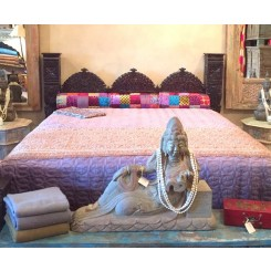 Jhula Low Pillar Bed