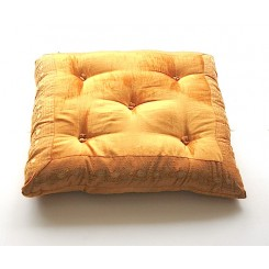 Tufted Velvet Floor Cushions, 24x24""