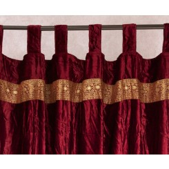 Velvet Embroidered Curtains