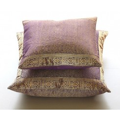 Jazz Sari Pillow Covers