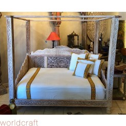 Lotus Canopy Day Bed, Full Size. Made to Order