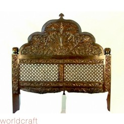 Carved Lattice Headboard. Made to Order