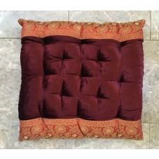 Velvet Embroidered Seat Cushions