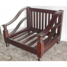 Plantation Mahogany Love Seat