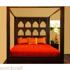 Devi Arch Canopy Bed. Made to Order