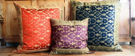 Indian Inspired D 233 Cor Furniture Bedding Cushions